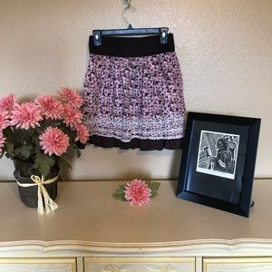 Joe Benbasset Skirt with Pockets Cherry Blossoms